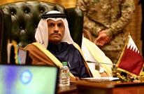 وزير خارجية قطر يصل القاهرة لأول مرة منذ حصار الدوحة