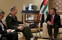 ملك الأردن يبحث مع رئيس الأركان التركي ملفات المنطقة