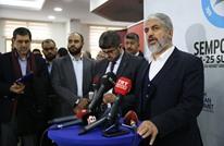 مشعل: قصف الغوطة جريمة والقدس عاصمتنا الأبدية