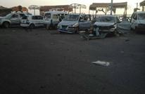 تنظيم الدولة يهاجم مقرا أمنيا بعدن بسيارتين ملغمتين (شاهد)