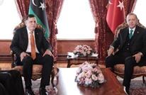 أردوغان يلتقي رئيس حكومة الوفاق الليبية في نيويورك (فيديو)