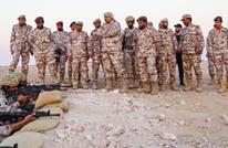 شاهد وزير الدفاع القطري في أول ظهور له بالزي العسكري