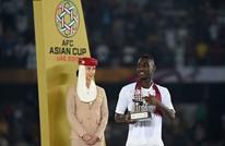 هداف منتخب قطر يحطم رقما قياسيا بكأس آسيا