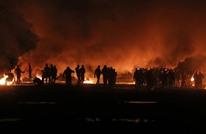 إصابات برصاص الاحتلال قرب الحدود العازلة شرق غزة (شاهد)