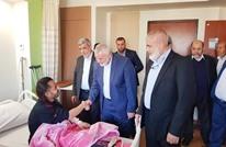 هنية يتفقد الجرحى الفلسطينيين في مستشفيات القاهرة (صور)