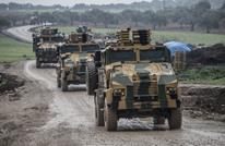 """قوات تركية تفض اعتصاما على """"M4"""" لتسيير دوريات مشتركة (شاهد)"""