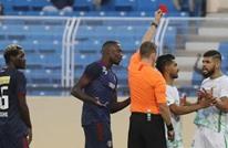 """الاتحاد السعودي يُوقف لاعبا بسبب """"سلوك مشين"""" (شاهد)"""