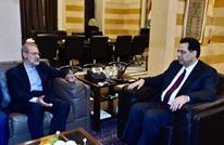 دياب يستقبل رئيس برلمان إيران ببيروت وتجاهل خليجي لحكومته