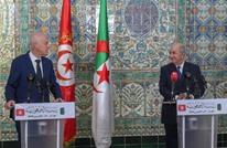 سعيد وتبون يؤكدان على حل سلمي بليبيا ويرفضان التدخل الأجنبي