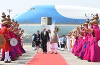 استقبال حافل لترامب في أول زيارة له إلى الهند (شاهد)