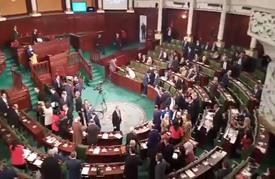"""انطلاق أعمال جلسة منح الثقة لحكومة """"الفخفاخ"""" بتونس (شاهد)"""