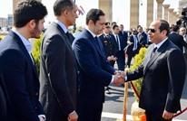 السيسي يعزّي زوجة حسني مبارك ونجليه (صور)