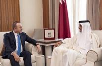 تشاووش أوغلو يلتقي نظيره الباكستاني وأمير قطر بالدوحة