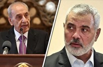 """هنية وبري يبحثان مخاطر """"صفقة القرن"""" على القضية الفلسطينية"""