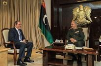 """وزير خارجية الجزائر يلتقي حفتر ضمن """"وساطة"""" بين طرفي الأزمة"""