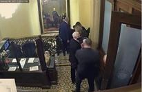 الحقيبة النووية كانت بخطر في أثناء اقتحام الكونغرس (فيديو)