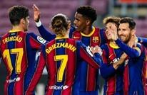برشلونة يدك شباك ألافيس بخماسية في الليغا