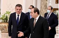 مباحثات بين السيسي ودبيبة.. واستئناف رحلات ليبيا إلى مصر
