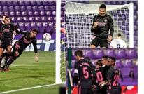 ريال مدريد يقلص الفارق مع المتصدر بفوز صغير على بلد الوليد