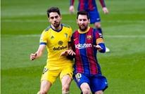 """""""هدف قاتل"""" يحرم ميسي من قيادة برشلونة لفوز ثمين"""