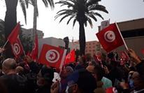 مسيرة ضخمة بتونس لحركة النهضة تطالب بإنهاء الأزمة السياسية