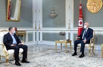 سعيد يلتقي أمين عام اتحاد الشغل.. ويعلق على التغيير الوزاري