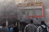 اندلاع حريق كبير قرب القصر الرئاسي بالخرطوم (شاهد)