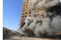 حريق بعقار في مصر مستمر منذ 6 أيام (شاهد)