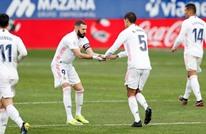 ريال مدريد يحقق فوزا صعبا بفضل فاران