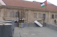 علم فلسطين على منزل بالخليل يستفز الجيش الإسرائيلي