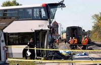 مقتل عشرة بحادث تصادم بين قطار وحافلة جنوب تركيا