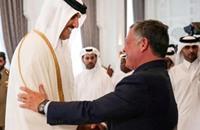 أمير قطر في الأردن لبحث أوضاع مصر وسوريا