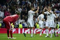 ريال مدريد يتلقى الهزيمة الأولى منذ 4 أعوام على ملعبه