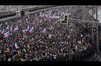 17 ألف شخص يمسيرة وداع المعارض الروسي