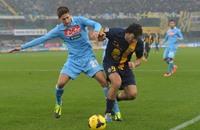 نابولي يتلقى ضربة جديدة في سعيه للتأهل لدوري أبطال أوروبا