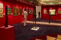 الفن اللبناني يهيمن على مزاد كريستيز في دبي (فيديو)
