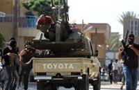 محاولة فاشلة لاستعادة السيطرة على الهلال النفطي من قوات حفتر