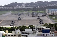 طوكيو تنتقد واشنطن لتحليق طائرات عسكرية فوق مدرسة بأوكيناوا