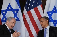 نتنياهو يطالب أمريكا بعدم تأييد حل الصراع مع الفلسطينيين