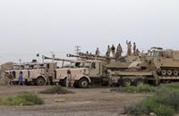 القوات العراقية تحاصر تنظيم الدولة في تكريت من 3 محاور