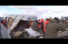 """مواجهات بين الشرطة الفرنسية ولاجئين في """"كاليه"""""""