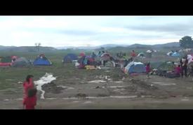 آمال اللاجئين بحياة كريمة تتحطم على حدود البلقان