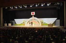 اليابان تحيي بحزن وصمت الذكرى الخامسة لتسونامي 2011