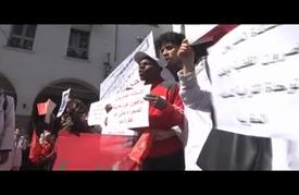 تظاهرة حاشدة بالرباط احتجاجا على تصريحات بان حيال الصحراء