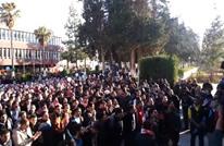 """كيف احتفل طلاب """"الأردنية"""" بإسقاط قرار رفع الرسوم؟ (فيديو)"""