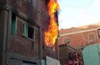 الأمن بمصر يضرم النيران في 3 منازل لمعتقلين بدمياط (شاهد)