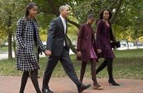 ما الذي تريده ابنتا أوباما من نجم برشلونة ميسي؟