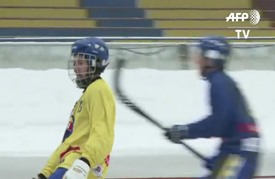 رياضة باندي تحلم بمنافسة هوكي الجليد ودخول الألعاب الأولمبية