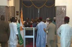 إعادة انتخاب ايسوفو رئيسا للنيجر بـ92,49 في المئة من الأصوات