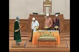 انتقال تاريخي للسلطة في بورما
